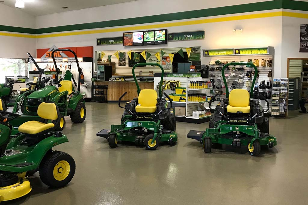 John Deere Dealer in Bloomington, Indiana - Showroom