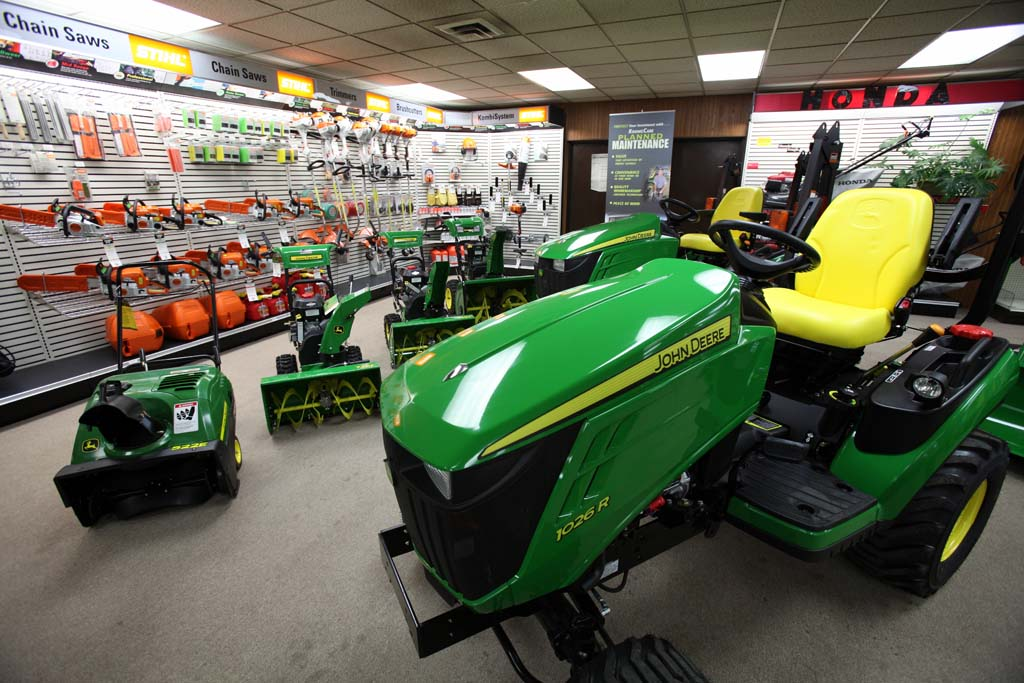 John Deere Dealer in Botkins, Ohio - Showroom