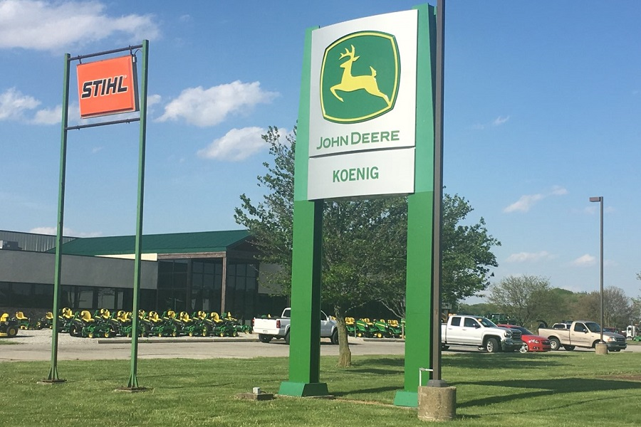 John Deere Dealer in Franklin, Indiana - Storefront