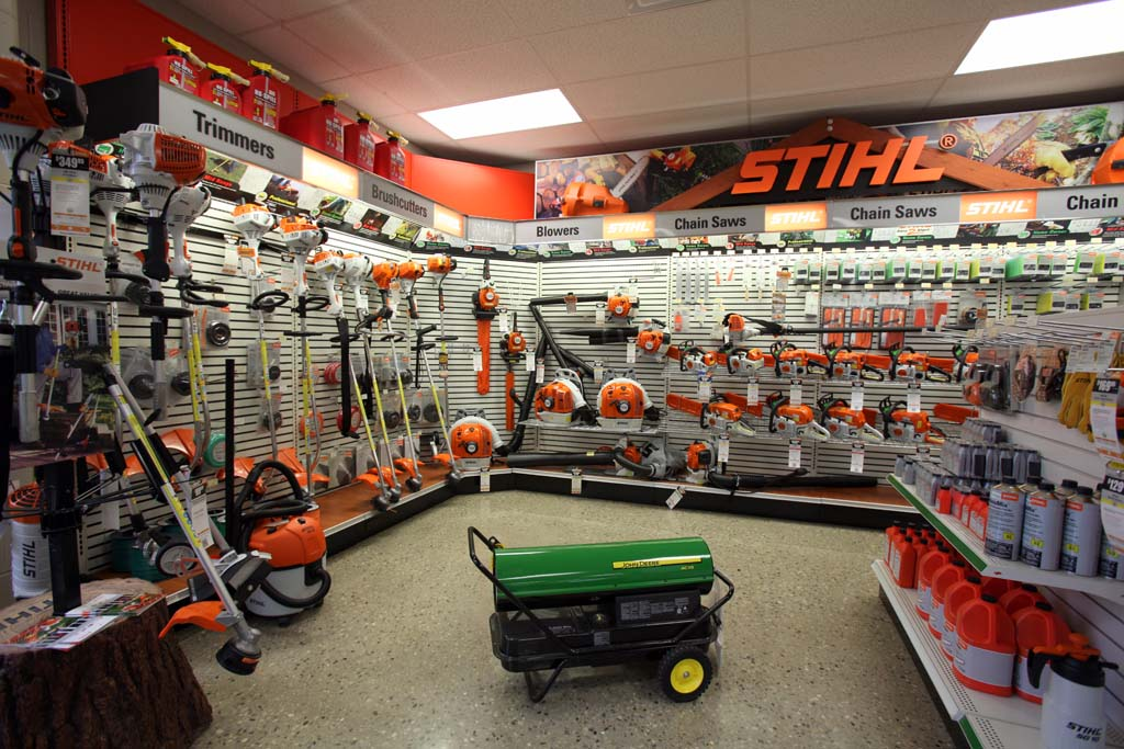 Koenig Tipp City Stihl Showroom