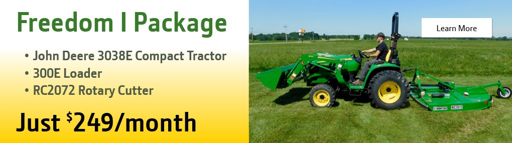Freedom I Tractor Package Banner