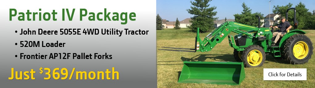 Patriot IV Tractor Package Banner