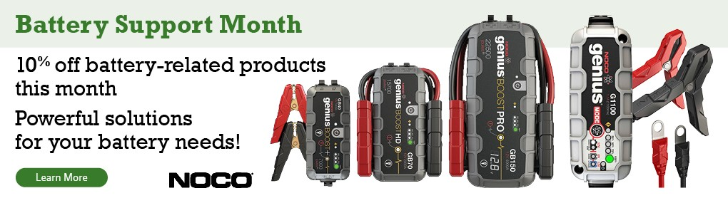 Battery Month Banner