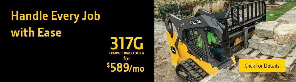 317G Compact Track Loader Banner