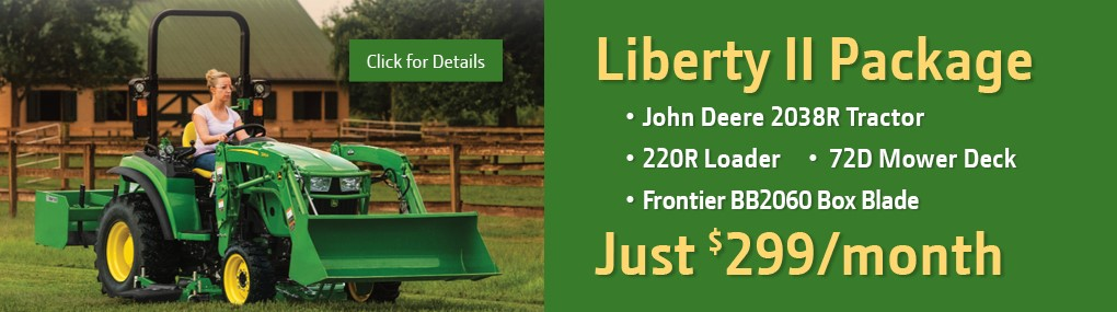Liberty II Tractor Package Banner