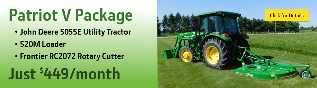 Patriot V Tractor Package Banner