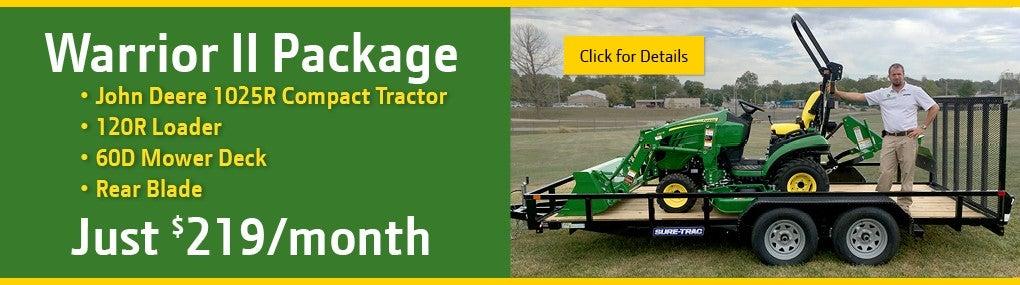 Warrior II Tractor Package Banner