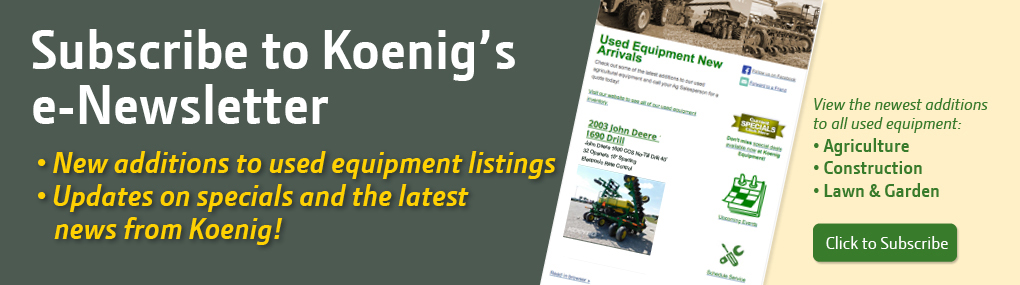 Subscribe to Koenig's e-Newsletter