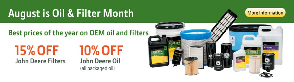 Oil and Filter Sale Banner
