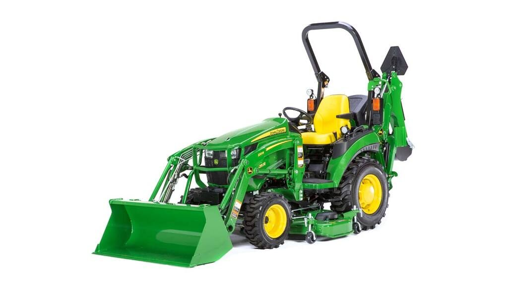 image of 2025R compact utility tractor in studio