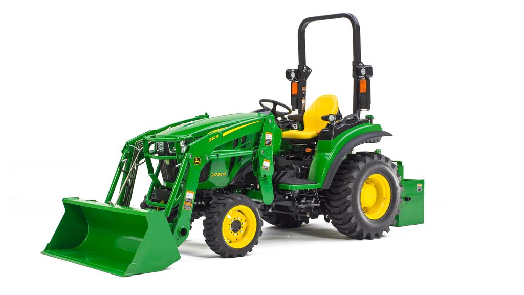 Studio image of 2032R Compact Utility Tractor