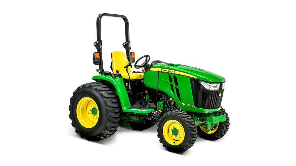 Studio image of 3033R Compact Utility Tractor