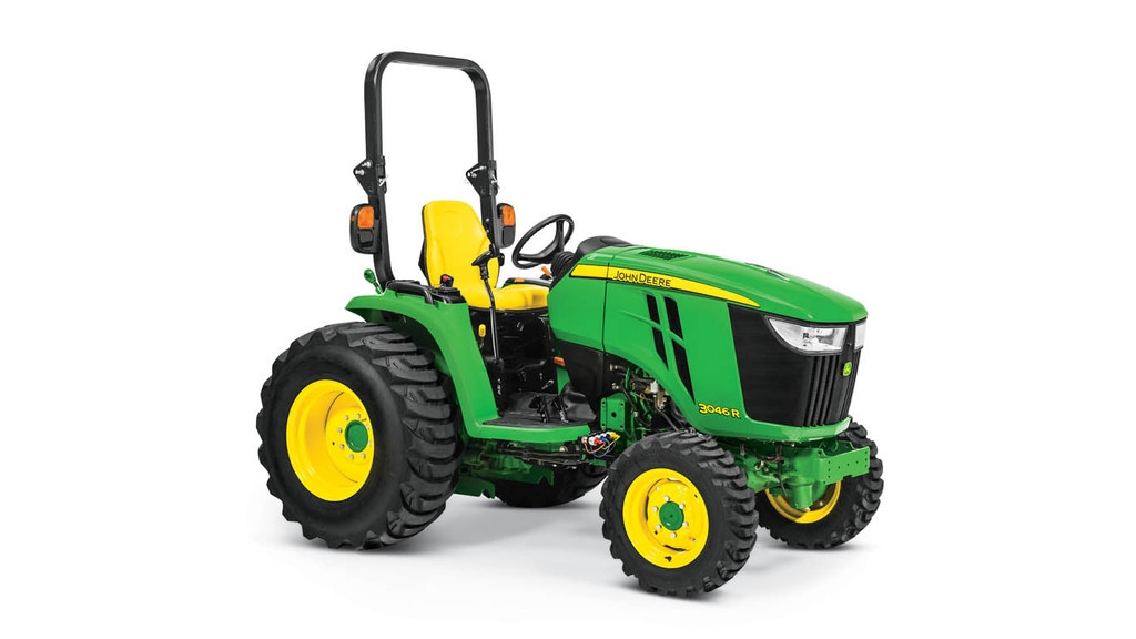 Studio image of 3046r Compact Utility Tractor