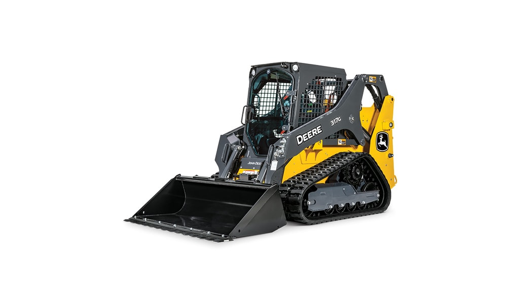 317G Compact Track Loader model on white background