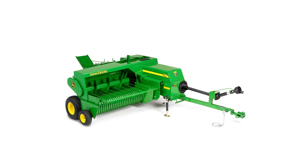 Studio image of 328 twine/wire baler