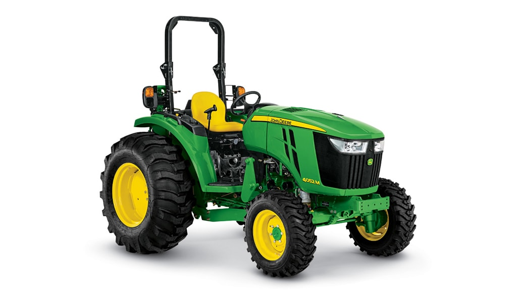 Studio image of 4052m compact utility tractor