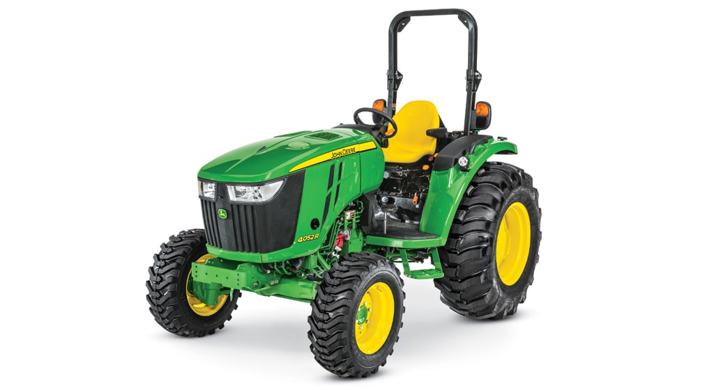 Studio image of 4052r compact utility tractors