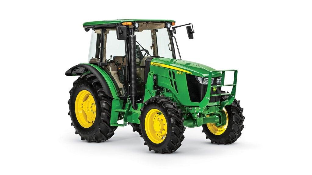 Studio image of 5100E Utility Tractor