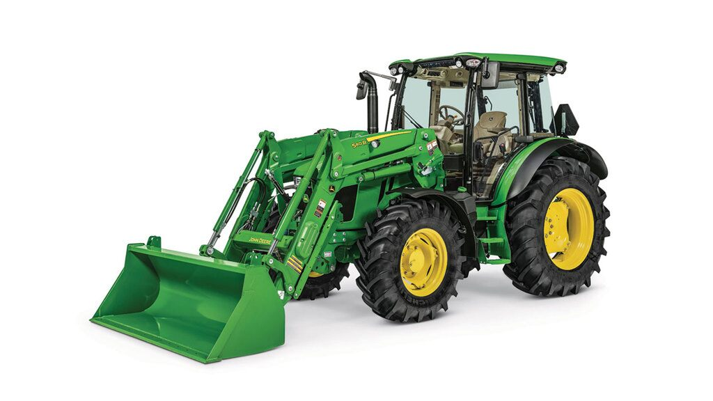 Studio image of 5r with 540 front loader