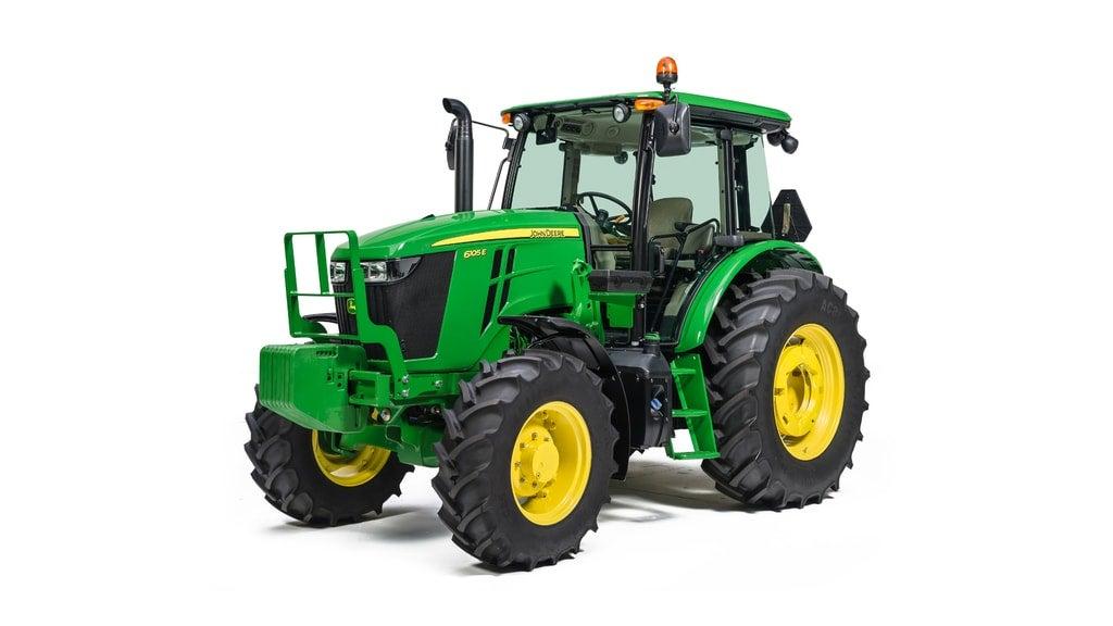 Studio image of 6105E Utility Tractors