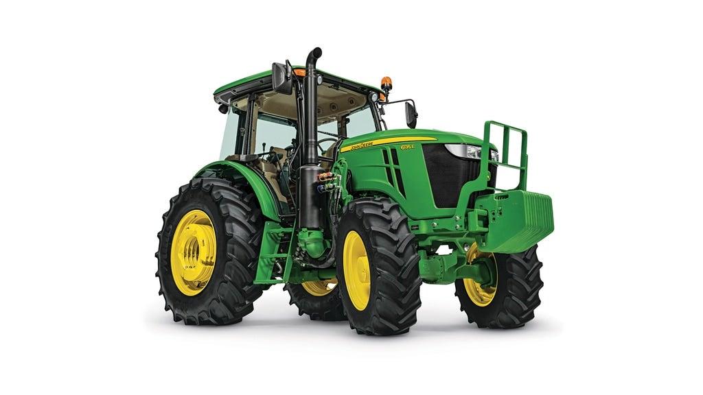 Studio image of 6135E Utility Tractor