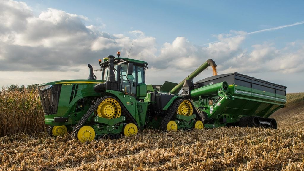 Field image of 9520rx Track Tractor