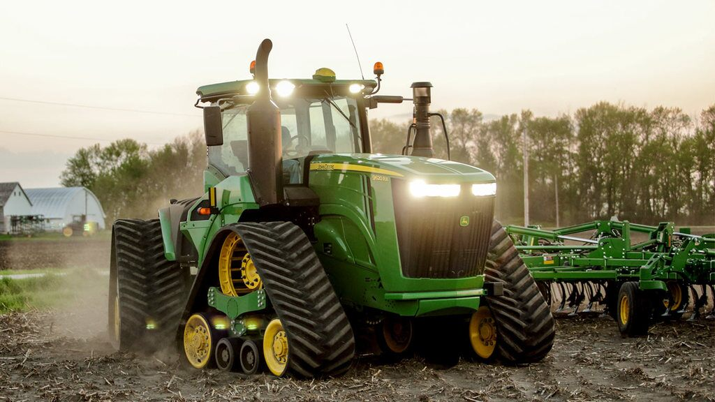Field image of 9620RX Track Tractor
