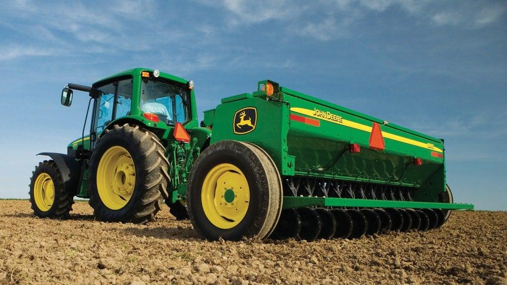 Field image of BD11 Series End-Wheel Grain Drills