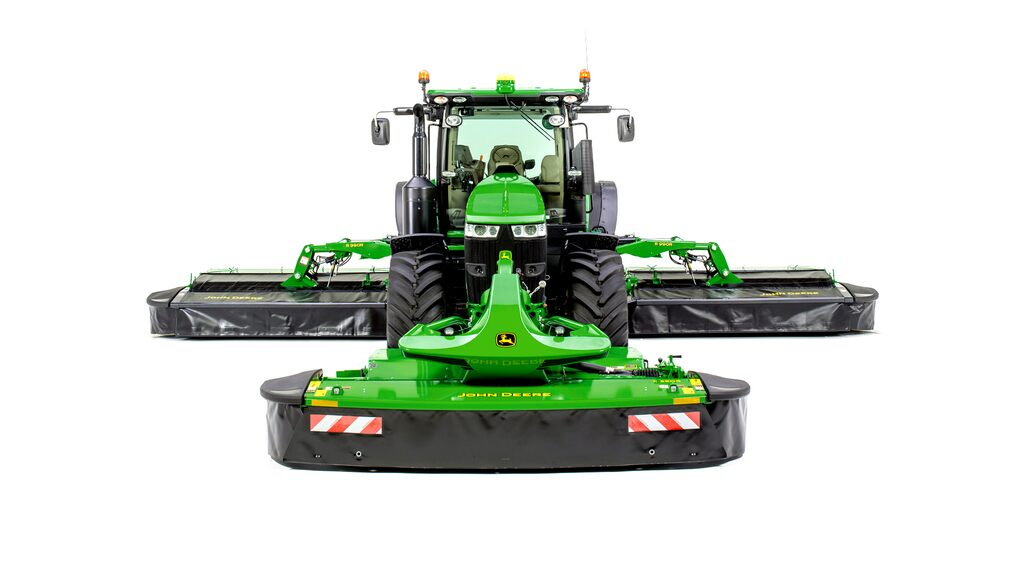 Studio image of F350R Front Mount Mower Conditioner