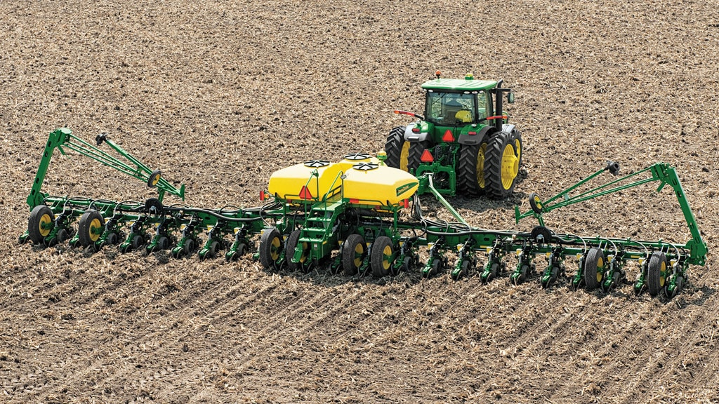 Field image of John Deere Section Control