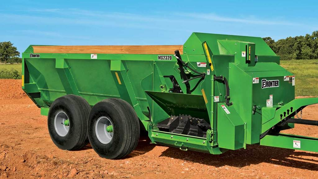 Field image of Frontier MS23 Series Manure Spreader