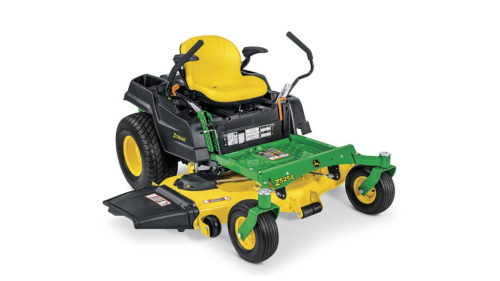 Studio image of a Z525e zero turn mower.