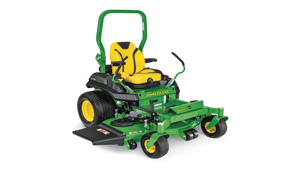 studio image of Z740r ztrak zero turn mower