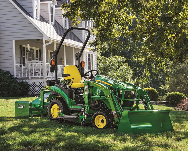 John Deere 1025R Tractor Package