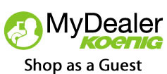 Koenig MyDealer Shop as Guest
