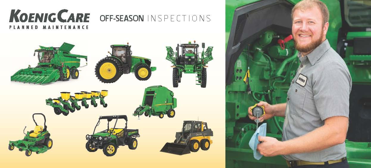 Agricultural Equipment Inspections