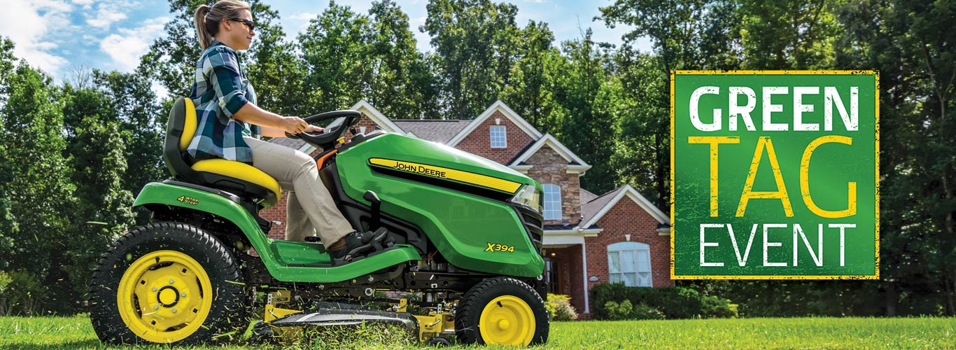 John Deere Green Tag Sales Event